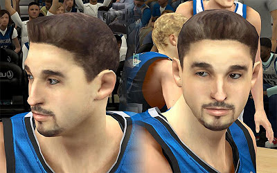 NBA 2K13 Alexey Shved Cyberface Patch