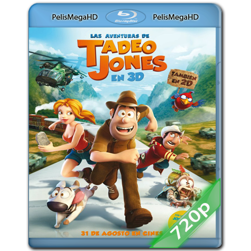 LAS AVENTURAS DE TADEO JONES (2012) 720P HD MKV ESPAÑOL LATINO