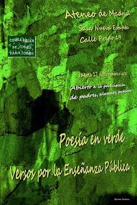 Poesía en verde