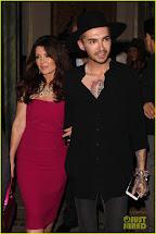 Bill Kaulitz and Lisa Vanderpump