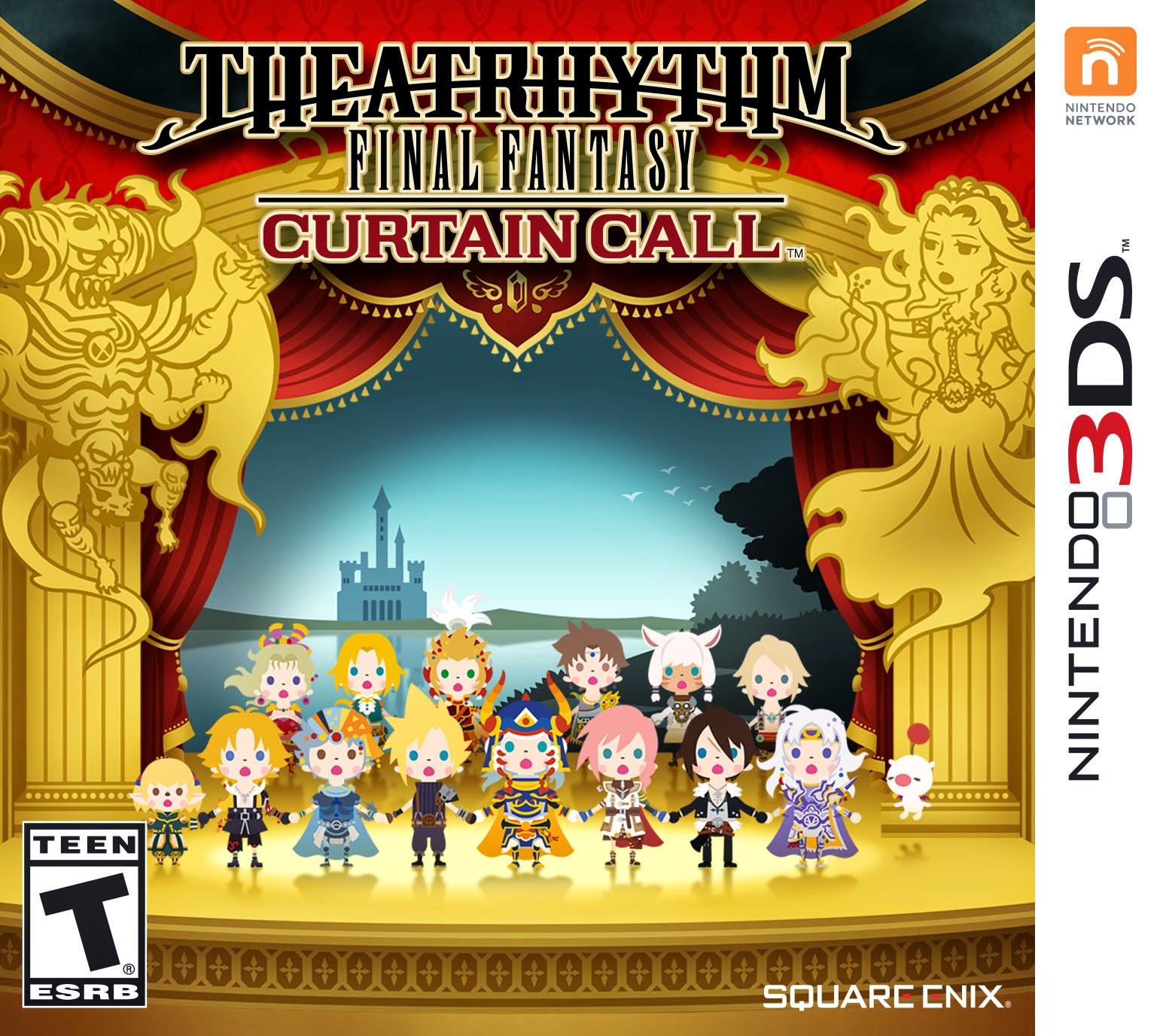 3DS Theatrhythm Final Fantasy Curtain Call Cover