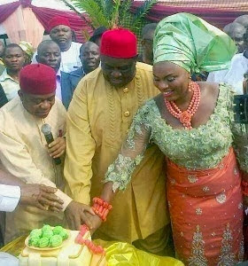 chief emmanuel iwuanyanwu wedding pictures
