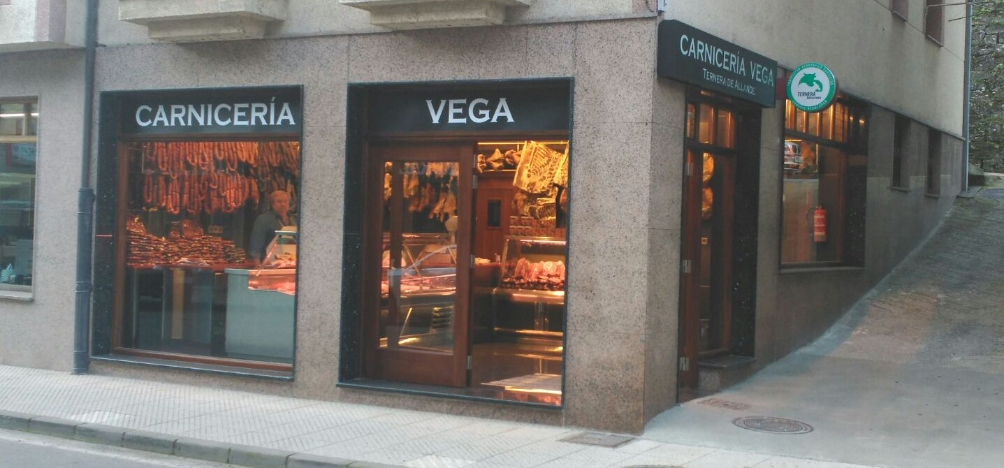 Carne de ternera de la raza Asturiana de los Valles. Embutidos y salazones.