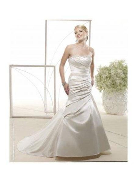 New York Fashion Christmas Champagne Color Wedding Dresses 2012