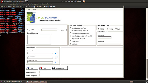 xSQL Scanner