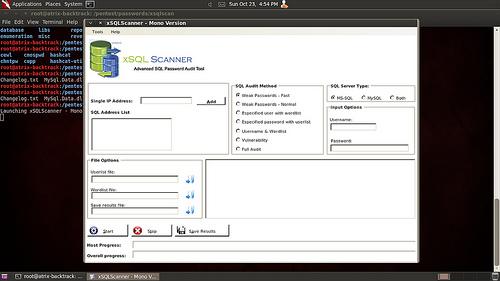 xSQL Scanner