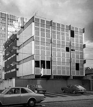 O edifício FAM em Porto Alegre