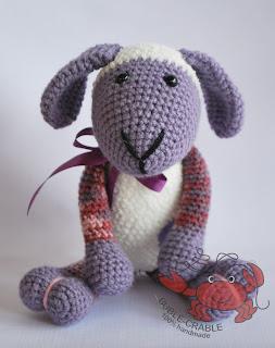 szydełkowa owieczka, owieczka, amigurumi, szydełkowe zabawki, zabawki ręcznie robione