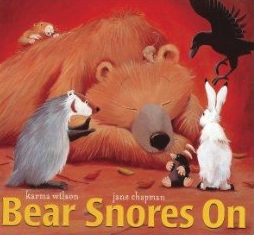 http://www.amazon.com/Bear-Snores-HARCOURT-SCHOOL-PUBLISHERS/dp/0153524839/ref=sr_1_2?ie=UTF8&qid=1390913812&sr=8-2&keywords=bear+snores+on