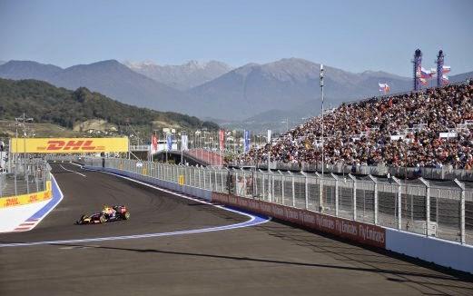 Keputusan Penuh Petak Perlumbaan F1 GP Russia 2014