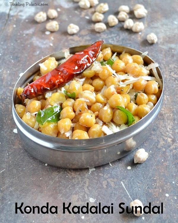 Kondakadalai Sundal Recipe