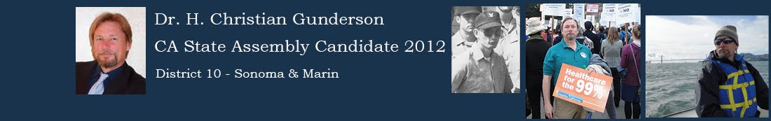 Dr. H. Christian Gunderson - California State Assembly Candidate 2012
