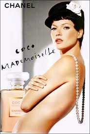 kate moss coco mademoiselle