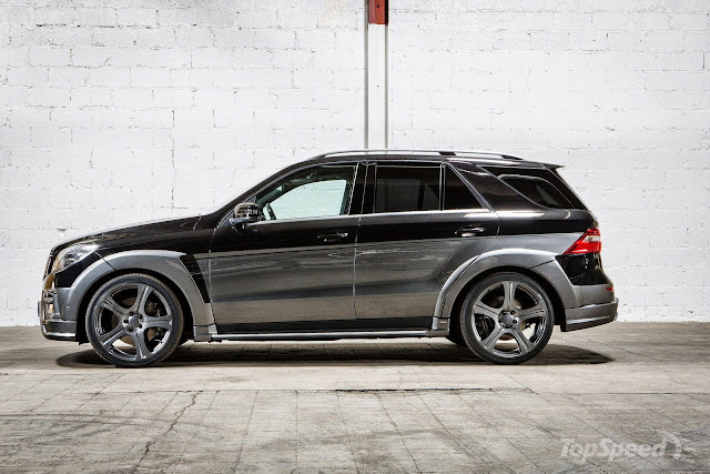 mercedes-benz ml w166 carlsson body kit