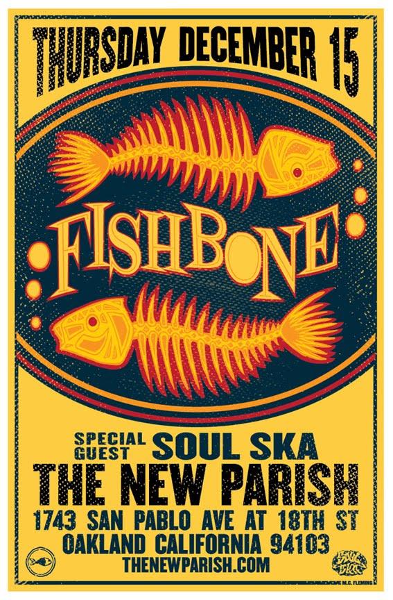 12/15 Fishbone at The New Parish