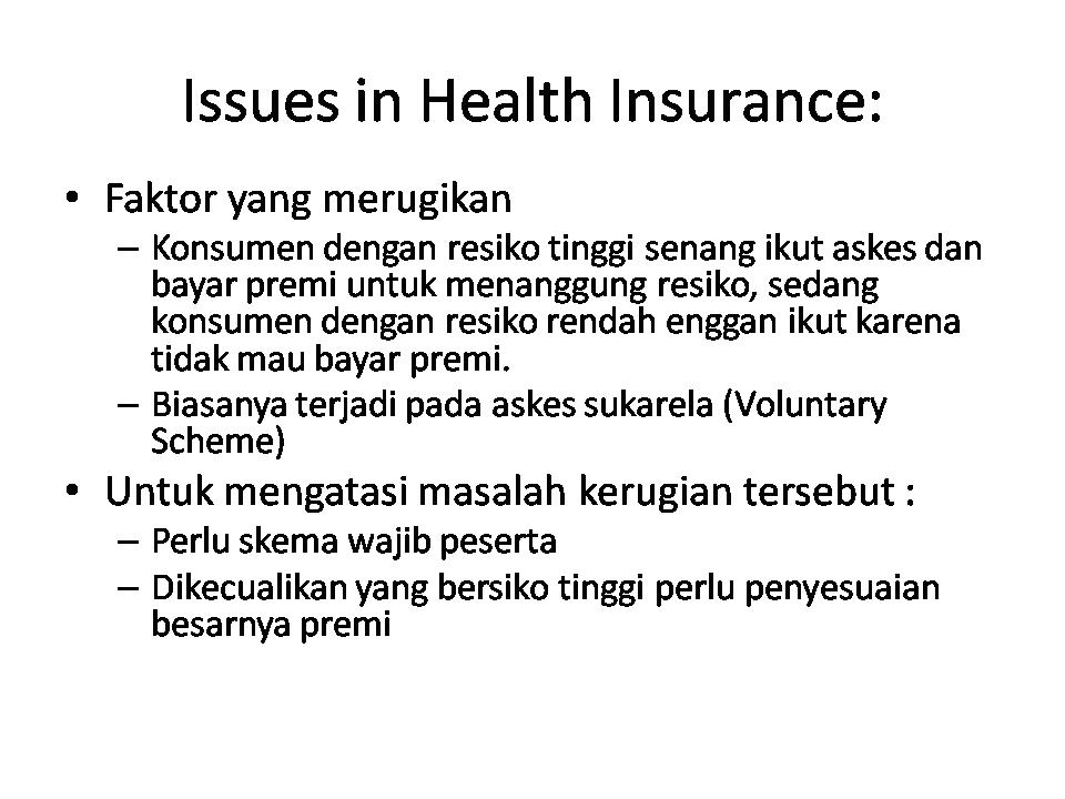 Compulsory Insurance Adalah