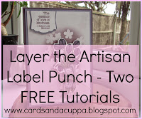 Layer the Artisan Label Punch - Two Ways