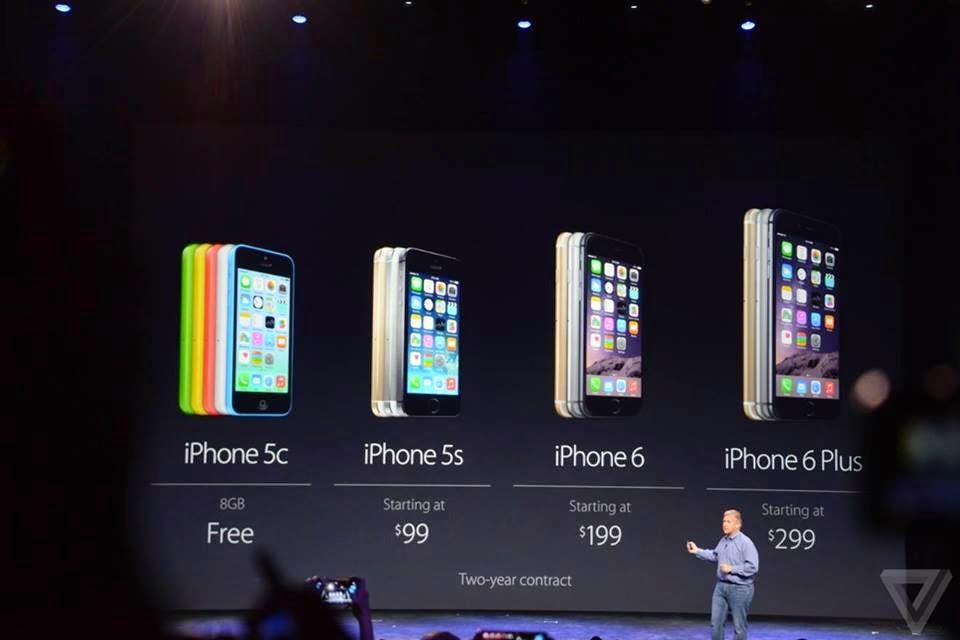اسعار الايفون الجديد الايفون 6 والايفون 6 بلس