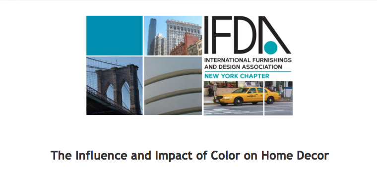 please join me upon my return from Europe to Visit design trade shows for a color forecast talk