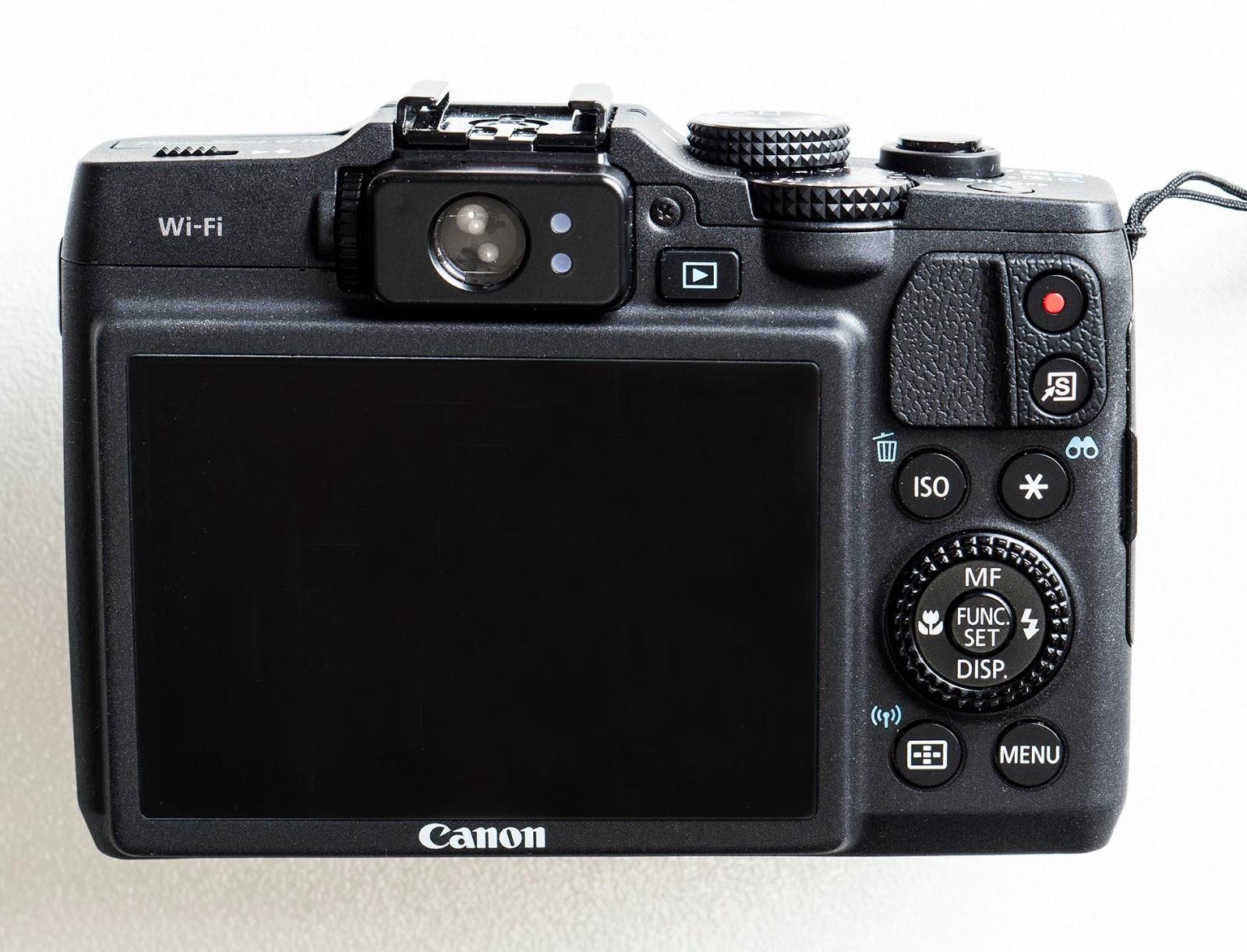 Canon g16 advanced compact camera review camera ergonomics
