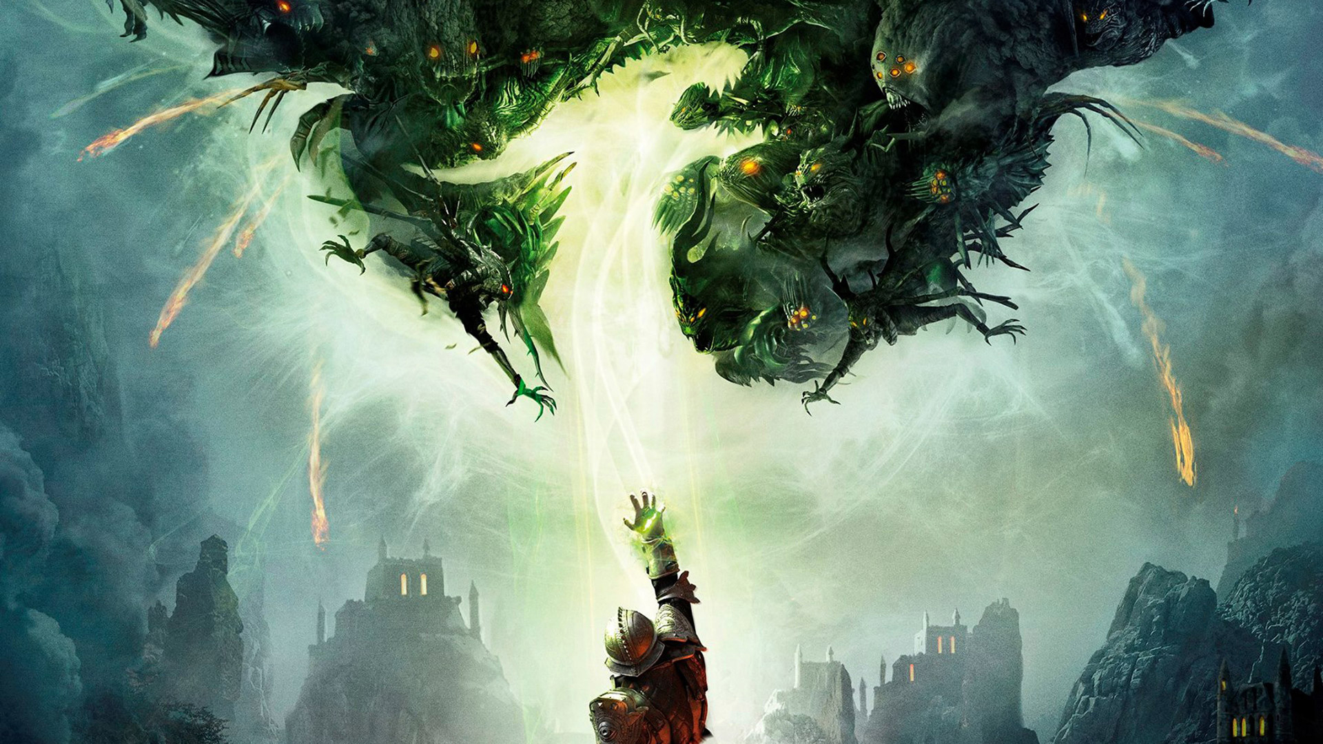 Green Dragon Wallpaper And Background