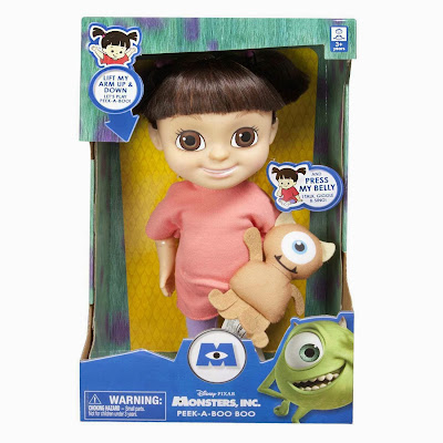 Muñeca Boo Monstruos SA con sonido