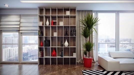 ... déco et relooking: Idées pour la maison:Bibliothèques modernes