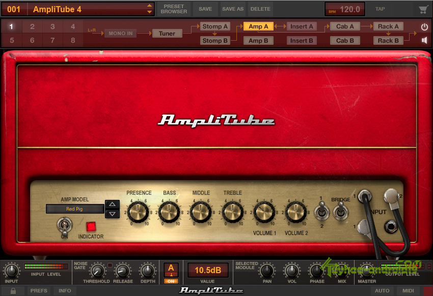 IK Multimedia AmpliTube 4 v4.0.1