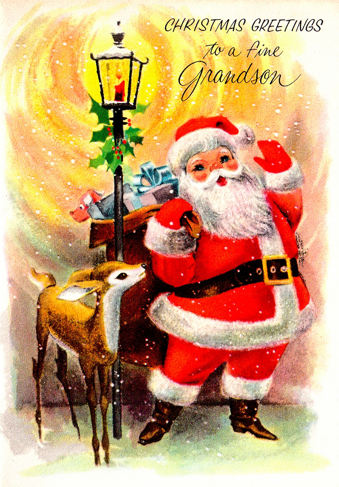 Christmas Wallpapers and Images and Photos: vintage santa ...