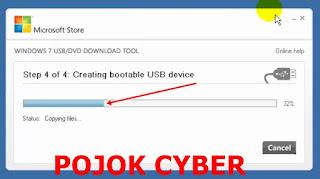 Proses penyalinan file ISO ke UFD