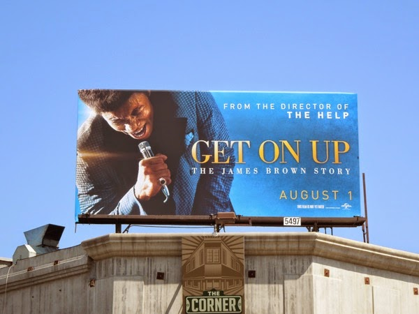 Get On Up film billboard