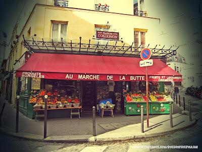 El Paris de Amelie, au marche de la butte