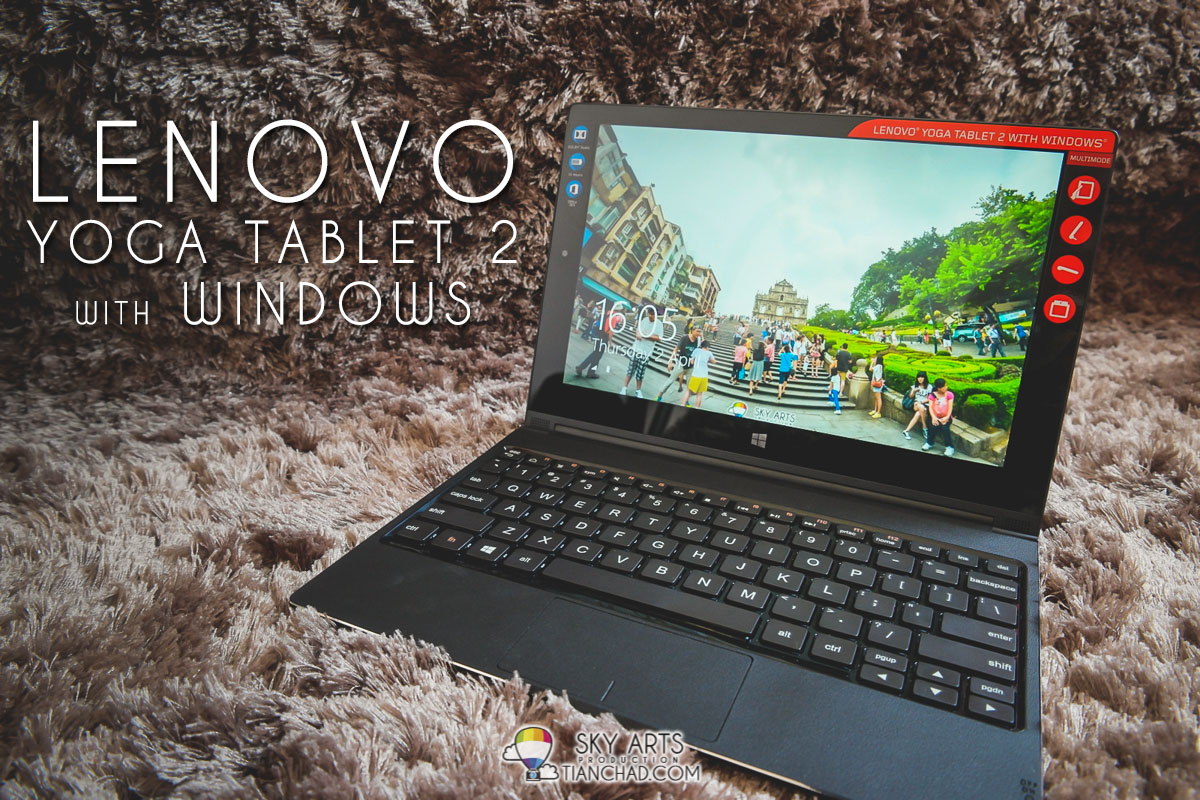 Lenovo Yoga Tablet 2 with Windows