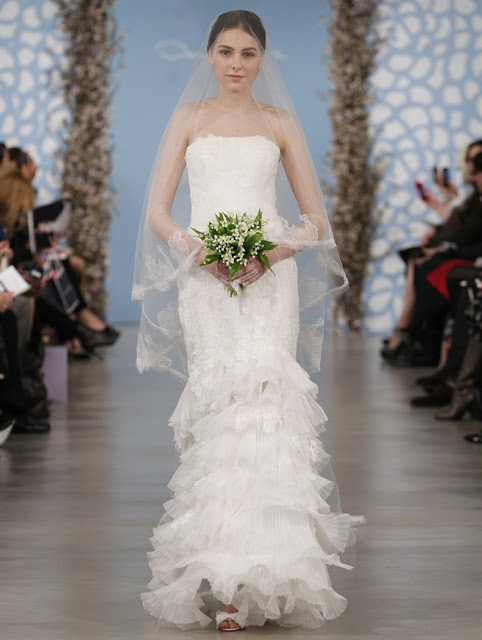 Oscar de la Renta Spring 2014 Wedding Dresses