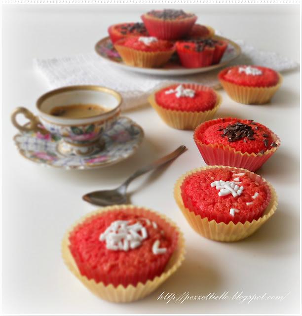 Mini tortine rosse