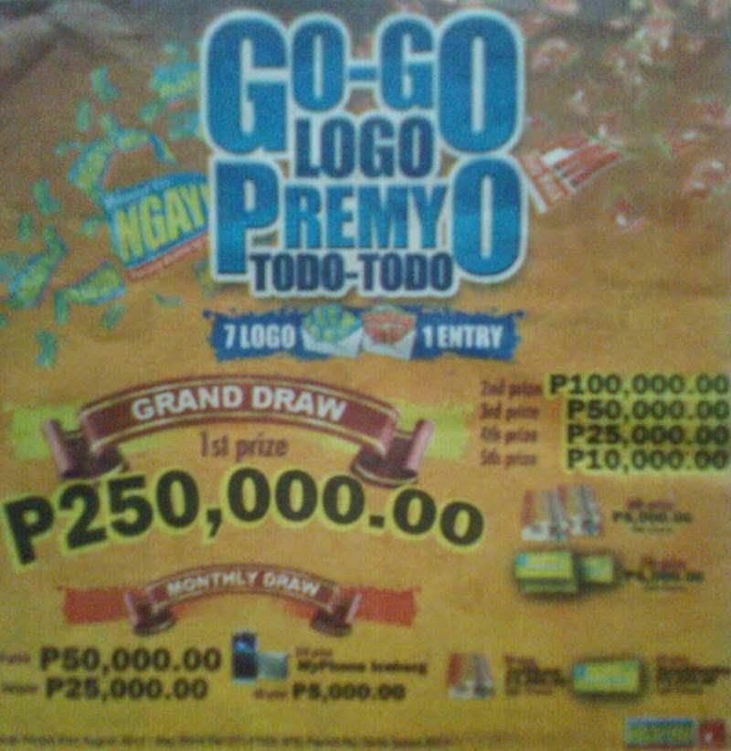 Go Go LOGO PREMYO TODO TODO, Philippines Promo