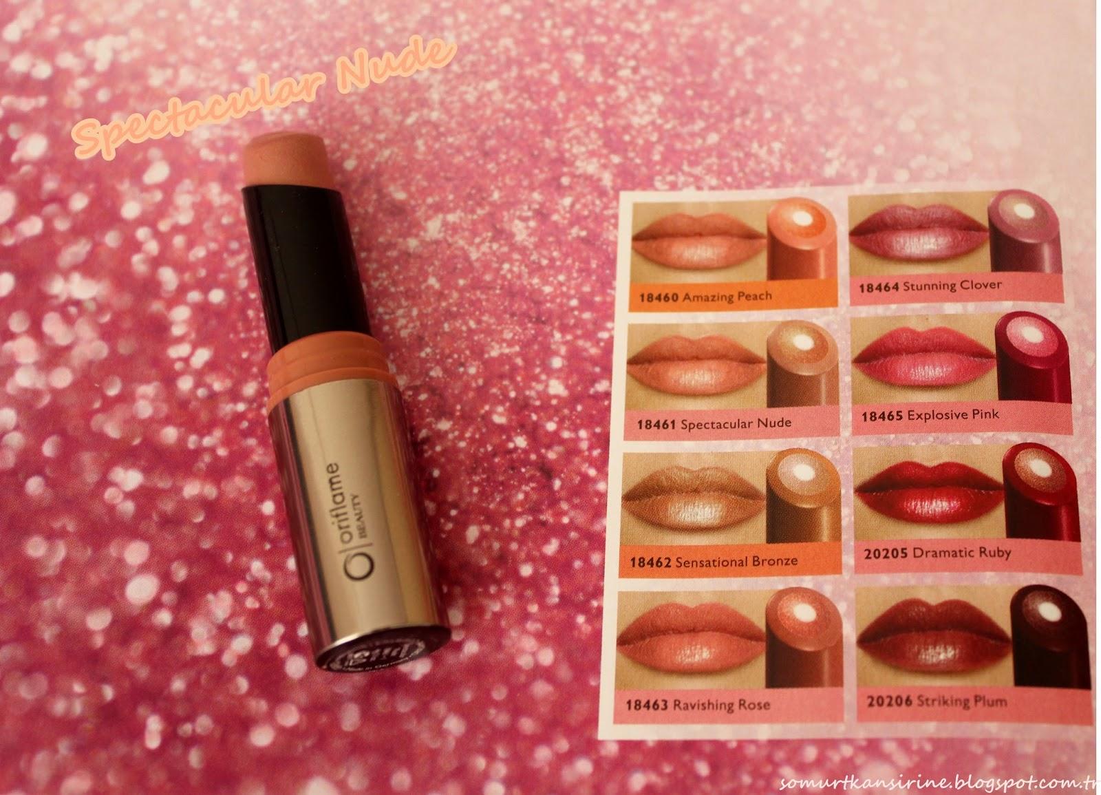 Oriflame Beauty Triple Core Ruj