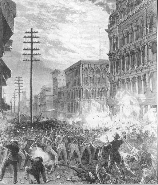 a history of the great railroad strike in america The great railroad strike of 1886  the great railway strike--  built america http://ww whistory com/topic s/andrew-carnegie/v.