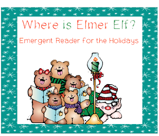 http://www.teacherspayteachers.com/Product/Elmer-Elf-Emergent-Reader-Positional-Words-432365