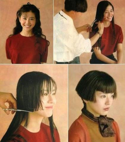 Short Bob Haircut Makeover
