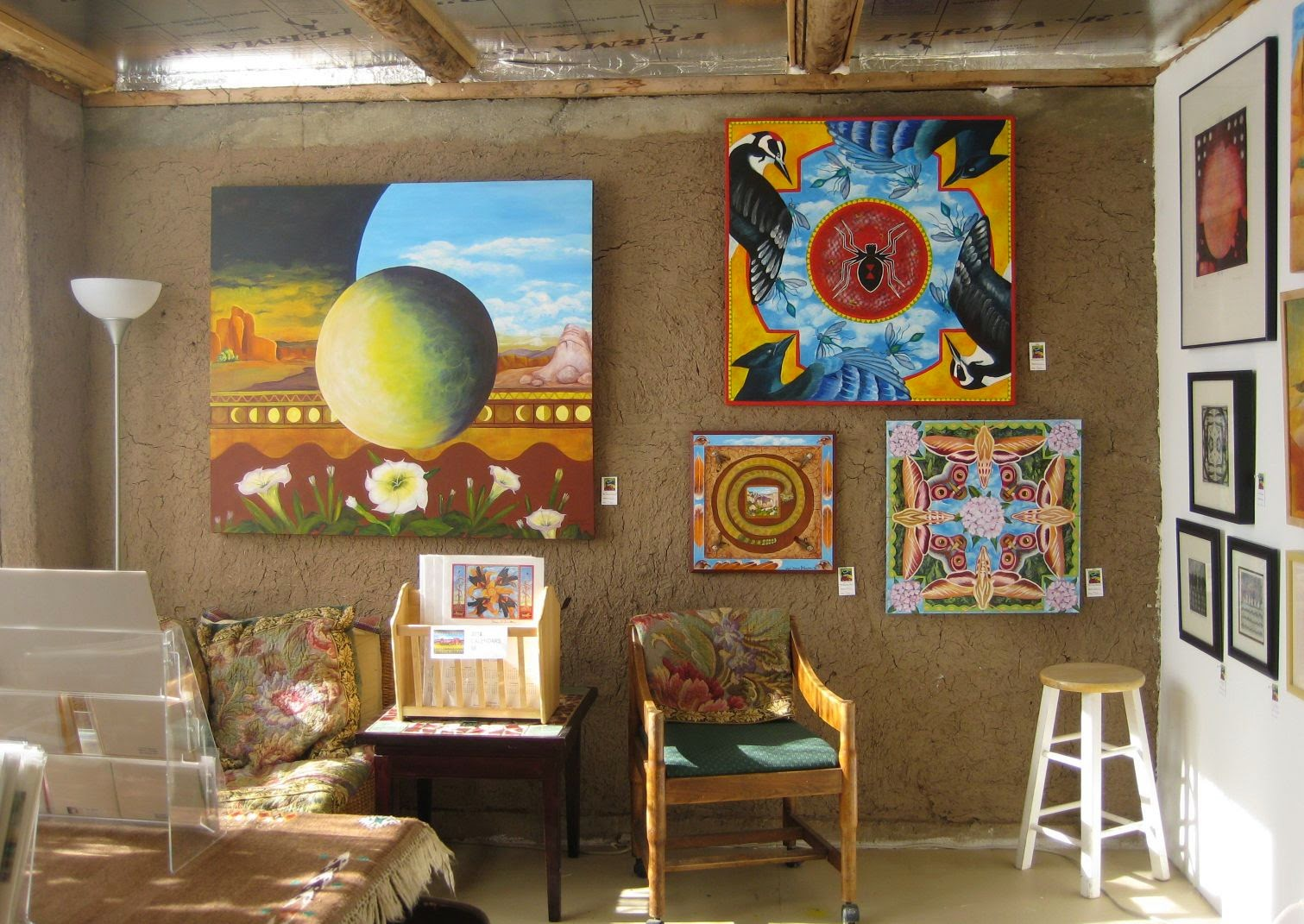 My Studio in Chamisal, NM