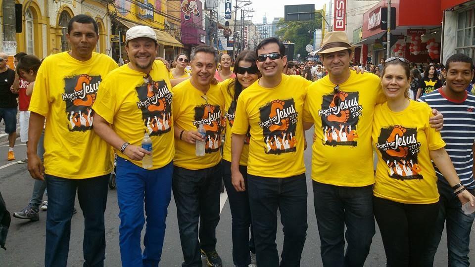 Marchar Para Jesus- 2013
