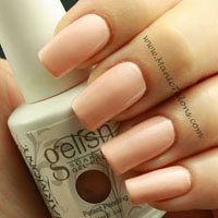Gelish Gel Polish Forever Beauty Swatch