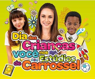 """Concurso Cultural """"Você nos Estúdios de Carrossel"""""""