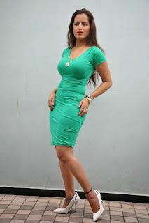Actress Meghana Patel  Pictures in Short Dress at Thagubothu RGV Logo Launch  8.JPG