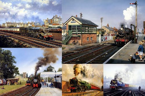 Trenes y locomotoras VI (5 Caballos de Hierro)