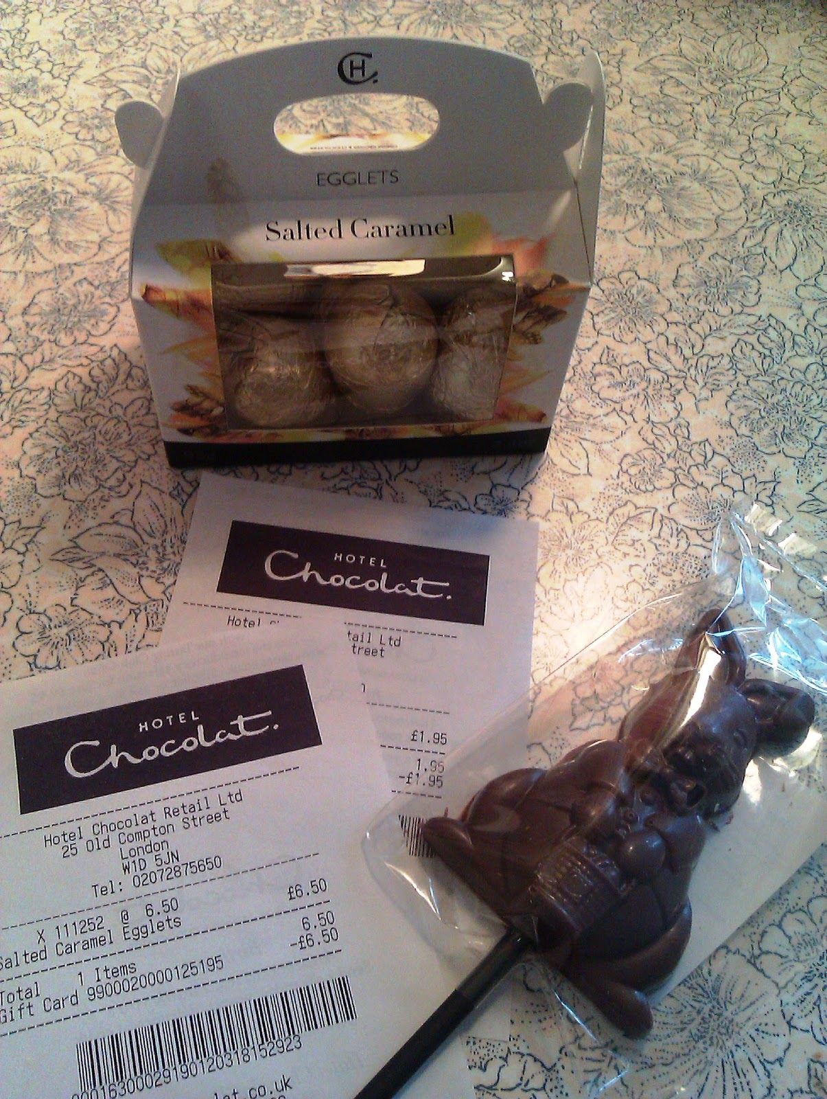 My highlights april 2012 love hotel chocolat and loving them more for my free easter egg goodies thanks to my friend phuong who always finds eggcellent bargins negle Gallery
