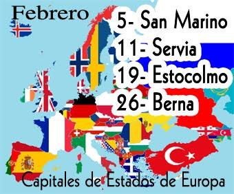 Capitales de Estados de Europa