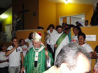 Comunidade do Timbó recebe Arcebispo Dom Delson