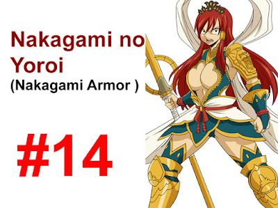 Nakagami Armor Erza Scarlet